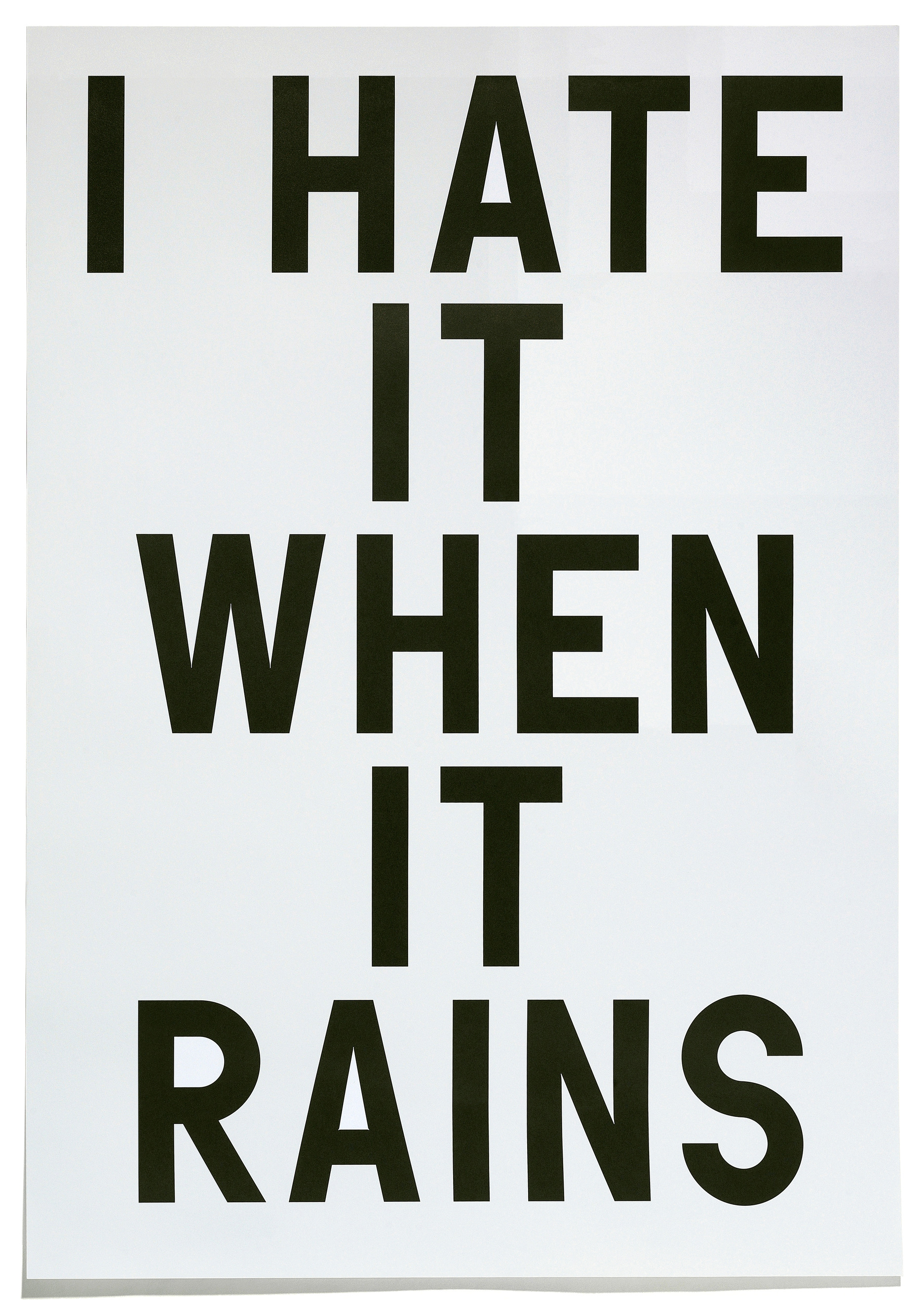 RP - Work - I Hate It When It Rains